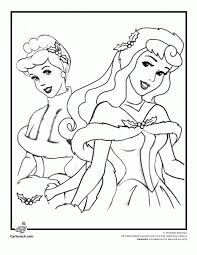 Free Download Coloring Disney Princess Christmas Pages Printable With Princesses Page
