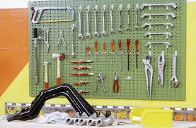 fabriquer un panneau de rangement pour outils