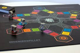 Oostring Ingeniorspillet Boardgame Design Previews