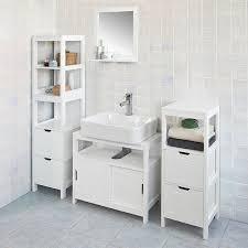 Bathroom Vanity And Tower Set by Haotian Wall Mounted Bathroom Mirror With Shelf Bathroom Vanity