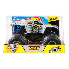 100 Monster Truck Batman Hot Wheels Jam DieCast Vehicle 124 Scale Mattel BGH29