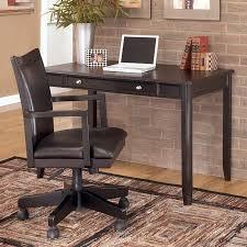 carlyle home office set w leg desk signature design by ashley