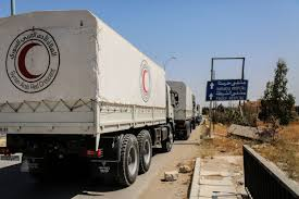100 Eastern Truck And Trailer Syrian Red Crescent On Twitter News Relief Aid Convoy To 25k