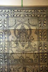 Tribal Wall Art At The Hilly Village Of Hazaribagh In Jharkhand