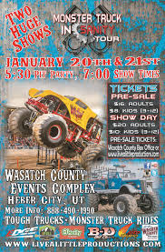 100 Monster Trucks Cleveland Truck Insanity In Heber City Presented By Live A Little