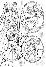 Sailor Moon Coloring Book