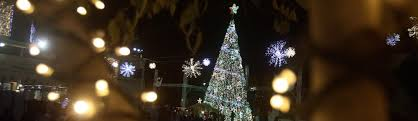 Bethlehem Lights Christmas Trees by Welcome To Bethlehem At Christmas Where Tear Gas Is Clouding Any