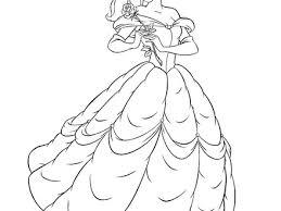 Disney Princess Belle Coloring Pages ColoringStar