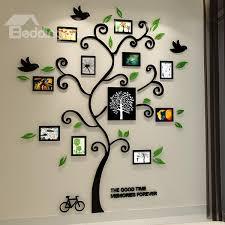 Fantastic Family Tree 3D Sticker Wall Photo Frame