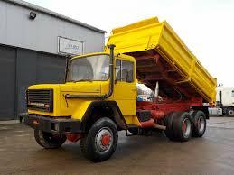 100 26 Truck IVECO Magirus 256 BIG AXLE STEEL SUSP 6X6 Dump Trucks For