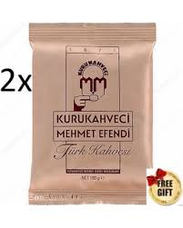 Turkish Coffee Kuru Kahveci Mehmet Efendi 2X 100g