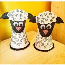 Lamb Craft From Waste Paper Cup