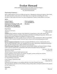 Best D And Helper Resumes