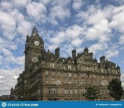 100 Edinburgh Architecture The In Scotland Editorial Image