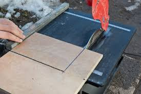 how to cut tiles with a saw howtospecialist how to build