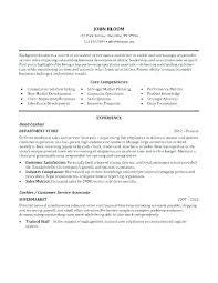 Sample Resume Cashier Customer Service Lead