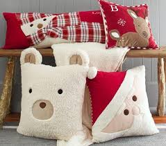 Pottery Barn Decorative Pillows by Christmas Decorative Pillows Pbk I U0027m Sure I Could Make These As