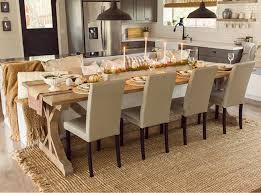 Dining Table Without End Chairs