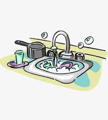 Clean Living Dishwashing Water Foam PNG Image And Clipart