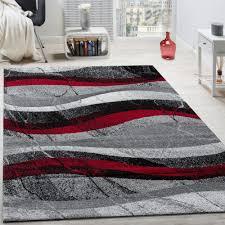 teppiche modern designer teppich abstrakt wellen linien