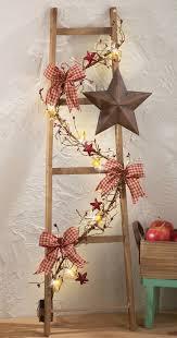 Primitive Decorating Ideas For Christmas by 82 Best Primitive Ladder Ideas Images On Pinterest Primitive