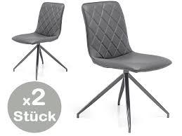 2x stühle 16816 esszimmerstühle küchenstühle stuhl grau günstig möbel küchen büromöbel kaufen froschkönig24