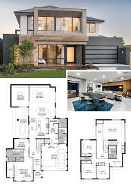 100 Contemporary House Floor Plans And Designs Two Storey Plan The Odyssey By National Homes Two