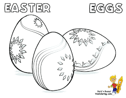Fancy Easter Egg Coloring Page You Can Print Out This EasterEgg