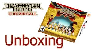 Theatrhythm Final Fantasy Curtain Call Limited Edition by Theatrhythm Final Fantasy Curtain Call Unboxing Youtube