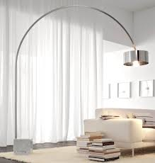 Crate And Barrel Meryl Floor Lamp by Tall Arc Floor Lamp With Modern Lamps Ideas To Light The Way And 6