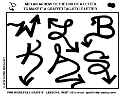 how to draw graffiti letters a z in 3d note9fo