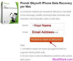 iSkysoft iPhone Data Recovery for Mac Free Registration Code