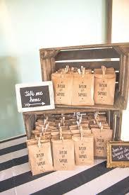 Rustic Kraft Paper Wedding Favor Bag Ideas Himisspuff Decor