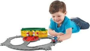 fisher price thomas friends tidmouth sheds deluxe turntable