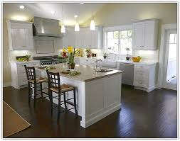 white kitchen floor and dark cabinets lessons learned from a