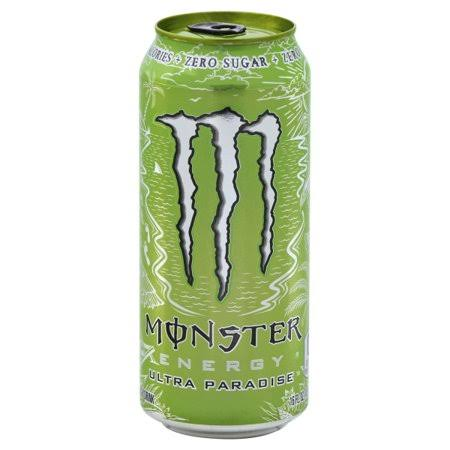 Monster Energy Drink, Ultra Paradise - 16 fl oz