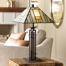 Ashley Furniture Tiffany Lamps by Franklin Iron Works Wrought Iron Tiffany Style Table Lamp
