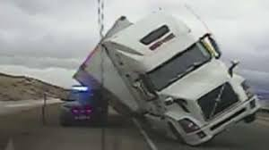 Semi-truck Crushes Wyoming Cop Cruiser In Viral Video | Semi Trucks ... 31 Most Funny Truck Photos And Images Bangshiftcom More Wintertime Fun Semitruck Donuts In The Snow This Cake Has A Semi Pictures Lol Tribe Pia Virginia Fortmller All The Things To Be Thankful For In October Spotted This Truck At Home Depoti Dont Even Know Where Begin Dogs Behind Wheel Of Large Automobile Semi Shockwave Custom Quotes Funny Fattie Wisdom Complete Trailer Hitch Accsories