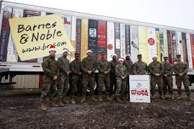 Barnes & Noble Donates $450 000 Worth of Products to the Marine