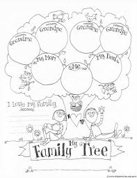 Printable Blank Family Tree