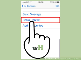 3 Ways to Transfer Contacts from iPhone to iPhone wikiHow