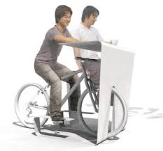 Recumbent Bike Desk Chair by Best Store Muus Cycle In Desk Transforms Your Bike Into A Chair