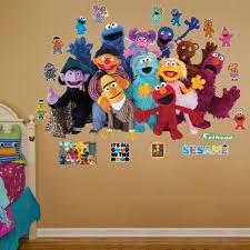 Fathead Princess Wall Decor by Amazon Com Fathead Sesame Street Group Real Big Wall Decals Home