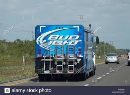 100 Bud Light Truck A Truck Stock Photo 75033849 Alamy
