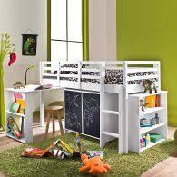 chambre fille 6 ans lit surélevé pour chambre enfant en pin massif dès 6 ans acheter