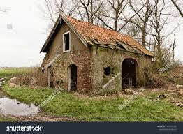 100 Rosanne House Dilapidated Countryside Netherlands Stock Photo Edit