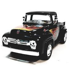 Kinsmart 1956 Ford F-100 Black With Flames Pickup Truck 1/38 Scale ... Dodge Ram Pickup W Camper Black Kinsmart 5503d 146 Scale Anchor Bolts Dodge Ram Custom Black Pickup Truck Amazoncom Chevy Silverado Electric Rc Truck 118 Scale Model Police Pickup 5018dp 144 Seek Driver Who Struck Bicyclist In Fort 2018 Ford Super Duty F350 King Ranch Hdware Gatorback Mud Flaps Oval Sharptruckcom Honda Ridgeline Reviews And Rating Motor Trend Custom 69 75mm 2002 Hot Wheels Newsletter 2017 Nissan Titan Crew Cab Pro4x 4 Wheel Drive American Muscle 1957 Cameo Onyx 1999 Welly 124 Youtube