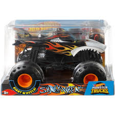 Wheels Monster Trucks 1:24 Scale Shark Wreak Gift 887961705577 | EBay Pictures Of Monster Trucks Save First Female Cadian Truck 2011 Jam Series Hot Wheels Wiki Fandom Powered By Wikia Shark Shock Diecast Vehicle 124 Scale Sonuva Digger Vs Wreak Carro Attack Road Rippers Youtube Remote Control Wwwtopsimagescom 164 2pack Vs Amazoncouk 2002 Original Grave With Pinewood Derby Car Wooden Thing