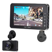 100 Truck Dash Cam Car Cam Dual FHD 1080P With Night Vision For Cars And S