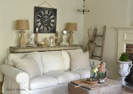 World Market Luxe Sofa Slipcover Charcoal by Faded Charm A New Clock